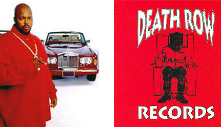 Death row records note subliminal and conscious image of death