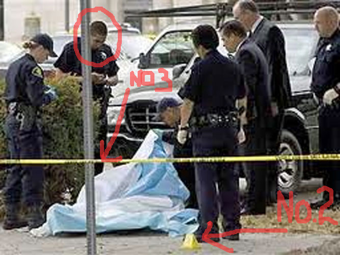 Huey p newton dead body